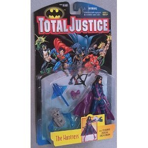 DC Comics Total Justice Huntress action figure Generic
