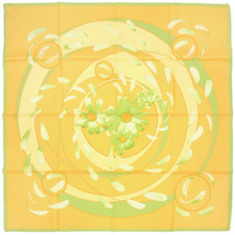 Hermes Scarf AU GRE DU VENT Silk Carre RYBALTCHENKO 90cm - $5.562,72 MXN