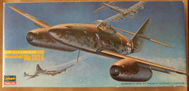Hasegawa Messerschmitt Me262A German Fighter Model #JG-7 1/7 - $25.00