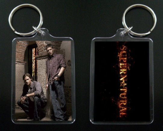 Primary image for SUPERNATURAL keychain DEAN & SAM WINCHESTER
