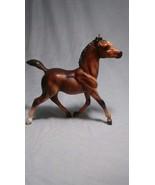 Vintage Breyer Reeves Brown Running Foal with White Sock + Diamond Breye... - $5.03