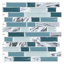 "(Ship from USA)Cocotik 12""x12"" Self Adhesive Peel Mosaic Wall Vinyl Backsplash S image 4"