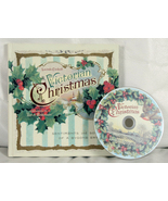 Victorian Christmas Book & CD by Lucinda Cockrell - $6.00