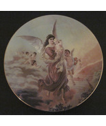 Lefton China  Plate Angels Cherubs Infant 1994 Christmas Collectible - $24.99
