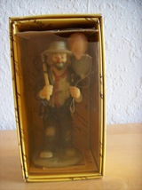 "1984 Emmett Kelly Jr. ""Balloons for Sale"" by Flambro Figurine  - $25.00"
