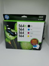 HP Ink Cartridge 564 XL Black And 564 Standard Color Combo Pack - $49.48