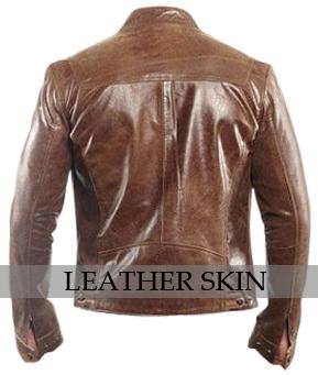 NWT Dark Brown Premium Genuine Pure Leather Jacket - All Sizes image 2