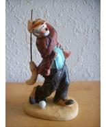 "1986 Emmett Kelly ""Golfing with Broom"" Figurine  - $30.00"