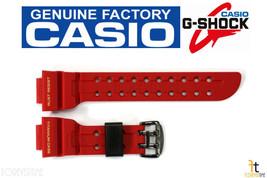 CASIO G-SHOCK FROGMAN GWF-T1030A-1 Original Red Rubber Watch BAND Strap - $164.21