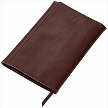 GLV1201C Reimeifujii book cover Gurowaru paperback size brown leather made - $14.94
