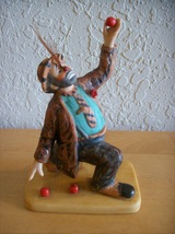 "1988 Emmett Kelly ""Feather Act"" Figurine  - $30.00"