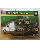 John Deere TBE45353 ERTL 8R Series 8325R 8335R Tractors Semi Drop Bed Tr... - £22.93 GBP