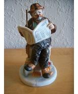 """1986 Emmett Kelly """"Wall Street Journal"""" Figurine  - $28.00"""