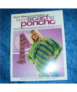 Better Homes & Gardens From Scarf to Poncho Knit Design - $5.50