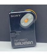 Sony walkman fm stereo transistor radio 1980s vintage electronics pocket... - $22.77