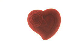 JEWELRY HEART GIFT BOX BEUTIFULL RED for Ring,Eearring,Charm ON SALE image 3