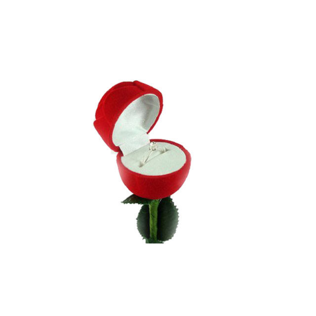 JEWELRY GIFT ROSE BOX  FOR RINGS 5 ROSES for $21.95 image 3