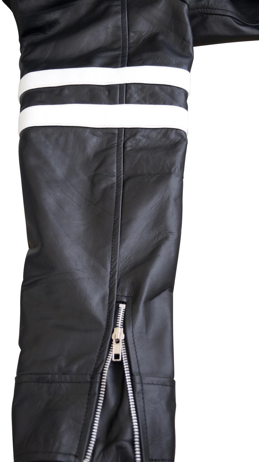 NWT Alex Mercer Prototype PS3 Premium Genuine Pure Real Leather Jacket Costume image 4