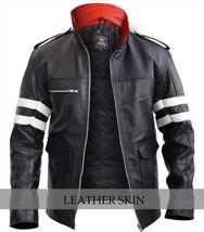 NWT Alex Mercer Prototype PS3 Premium Genuine Pure Real Leather Jacket Costume image 1