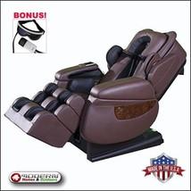Luraco Brown iRobotics i7 3D Zero Gravity Massage Chair Bonus Eye Massager - $8,990.00