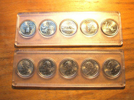 2000 - P Uncirculated STATE QUARTER SET - IN HOLDER - $10.95