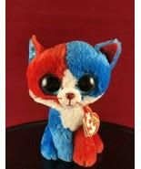 TY Beanie Boos - Spirit the Patriotic Cat - Cracker Barrel Exclusive 2016 - $28.01