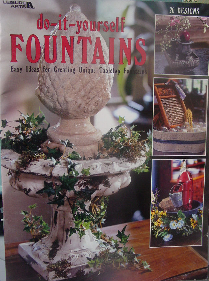 Do it Yourself Fountains 20 Awesome Designs
