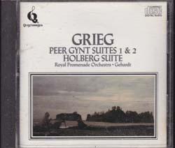 Grieg, Peer Gynt Suites 1 & 2 , Royal Promenade orch. Gehardt 1987