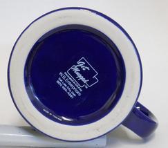 The Great Seal Of Utah ~ National Guard Utah Centennial ~ Cobalt Blue Cup Mug image 5