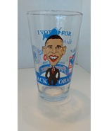 Barack Obama Flying Saucer Get Off Your A** And Vote Glass 2008 16 ounces - $14.99