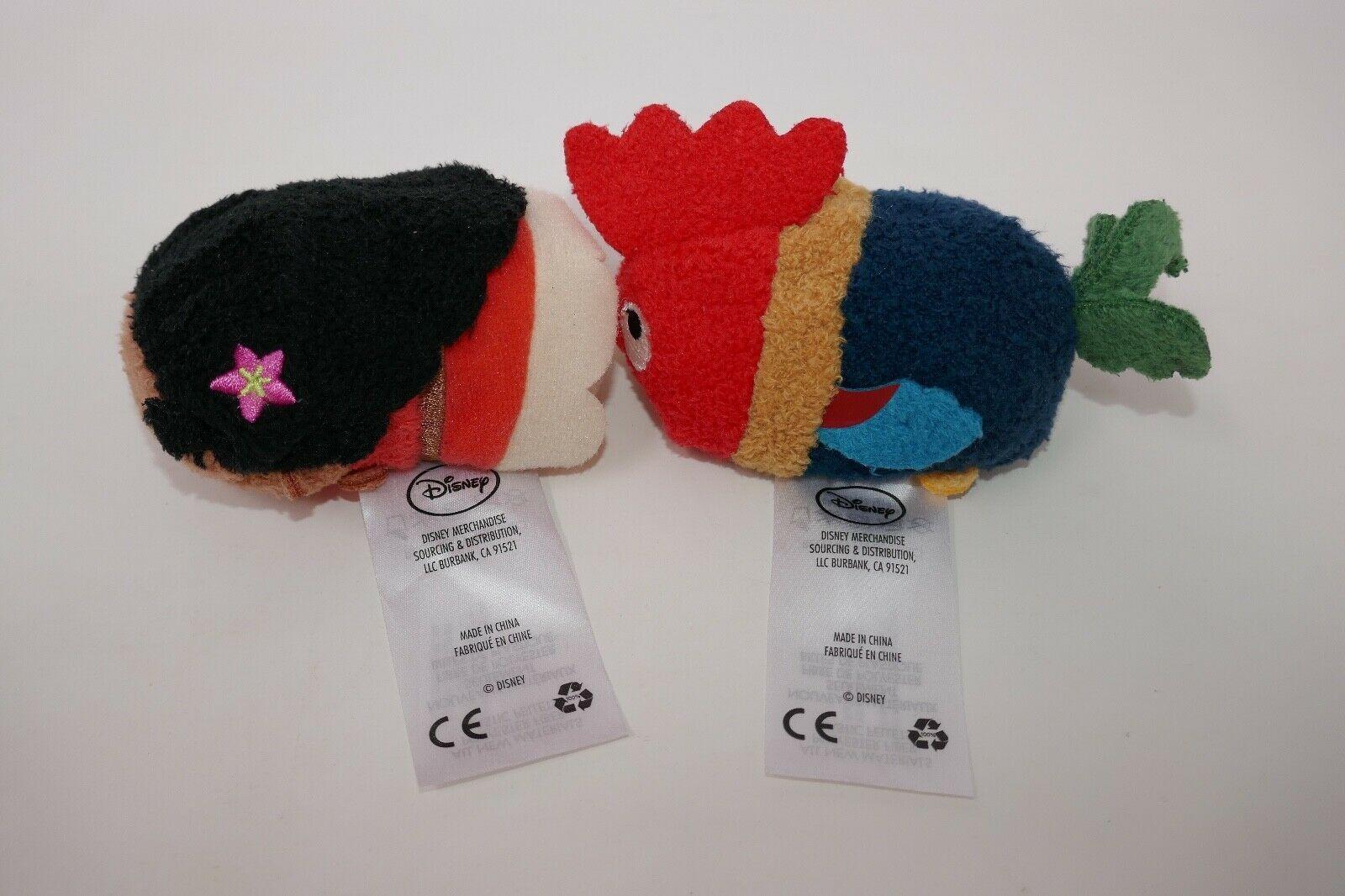 "Disney Store Tsum Tsum 3"" Plush Stuffed Animal - Moana HeiHei"