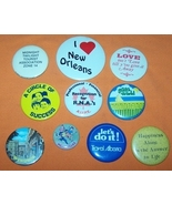 Advertising Buttons 10 I Love New Orleans - $7.00