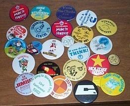 Advertising Buttons 25 Calaway Park etc. - $20.00