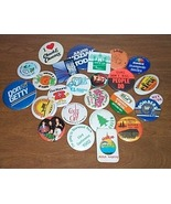 Advertising Buttons 25 Kids On The Block etc. - $20.00