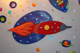3 feet Space Ship Birthday Party / Kid Room Dec... - $49.99