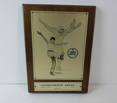 Vintage 1965 Ford NFL PP&K Age 13 1st Place Norman Rockwell Sports Award... - $67.31