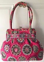 Vera Bradley VGC pink Handbag Purse Retired - $30.74