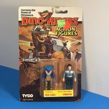 1987 TYCO DINO RIDERS ACTION FIGURES VINTAGE EVIL RULON 6 SIX GILL ORION... - $94.05