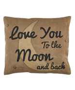 """Olivia's Heartland """"Love You"""" Embroidered and Embellished Pillow - $25.99"""