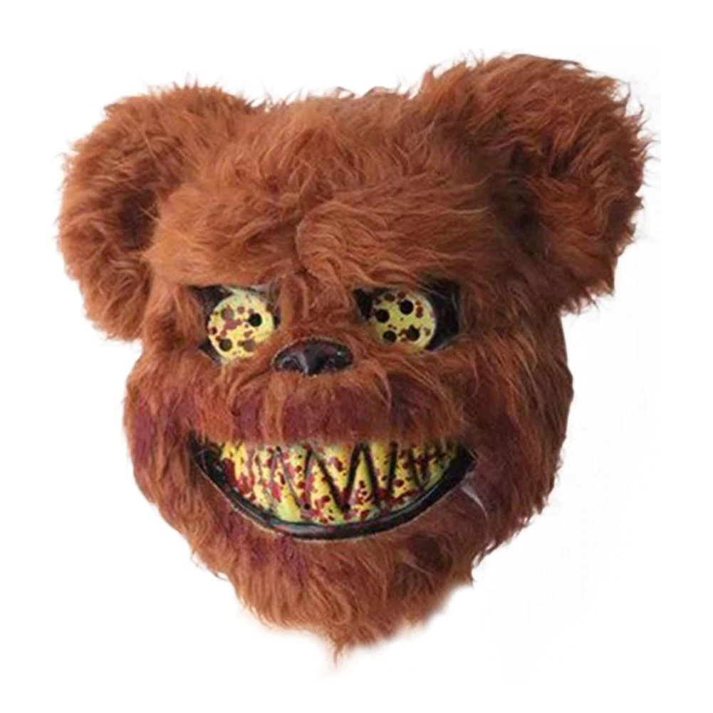 Primary image for Party Mask Halloween Mask Bloody Teddy Bear Masquerade Scary Props Halloween