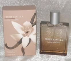Bath & Body Works Fresh Vanilla EDT 1.7 Fl. Oz. New in Box - $150.00
