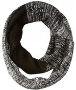 Jessica Simpson Women's Ombre Marled Eternity Scarf, Black, One Size - $21.75