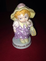 """MOTHER'S DAY 1983 AVON CHERISHED MOMENTS-Little Girl in Dress-up-3 3/4"""" ... - $3.96"""