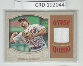 2016 Topps Certified Relic Gypsy Queen Nationals * Anthony Rendon * 192044 - $5.89