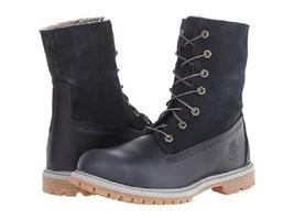 Timberland - Authentics Teddy Fleece Fold-Down (Navy) Women's Lace-up Boots - $1.872,59 MXN+