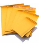 50 Umschlag Beutel Braun Kraftpapier Blasen Gepolstert Mailer Zubehör Po... - $22.73