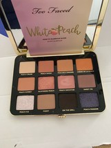 Too Faced White Peach Multi Dimensional Eye Shadow Palette- AUTHENTIC- NIB - $27.95
