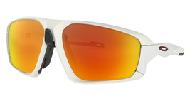 Oakley Field Jacket Sunglasses OO9402-0264 Matte White Prizm Ruby Lens  - $220.77