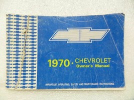 1970 Chevrolet Chevy Owners Manual 15969 - $18.76