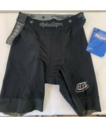 Troy Lee Designs Team Inner Liner Padded Shorts Solid Black Cycling Unis... - $34.62
